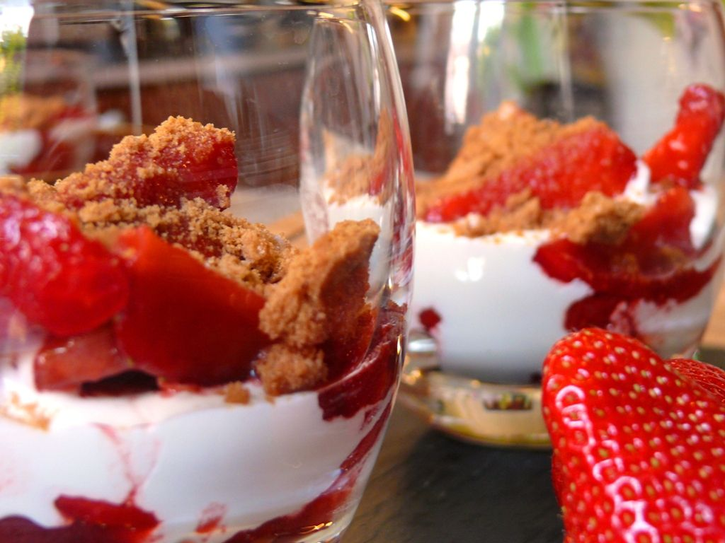 Comment préparer un dessert du tonnerre avec des fraises ?